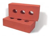 Gạch xây không trát 3 lỗ